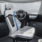 Porsche Renndienst: Porsche zeigt extravaganten Innenraum seines Elektro-Vans