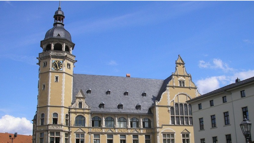 Das Rathaus Köthen