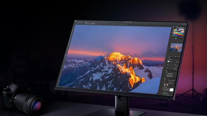 Der Mi 2K Gaming Monitor eignet sich auch für Bildbearbeitung.