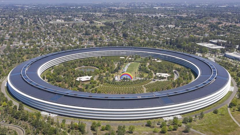 Apple Park Luftaufnahme