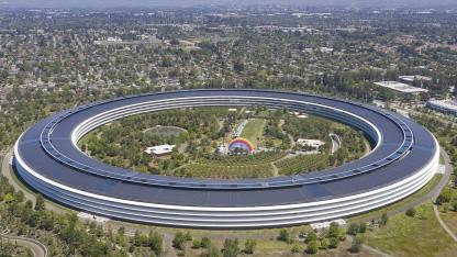 Apple Park - Luftaufnahme