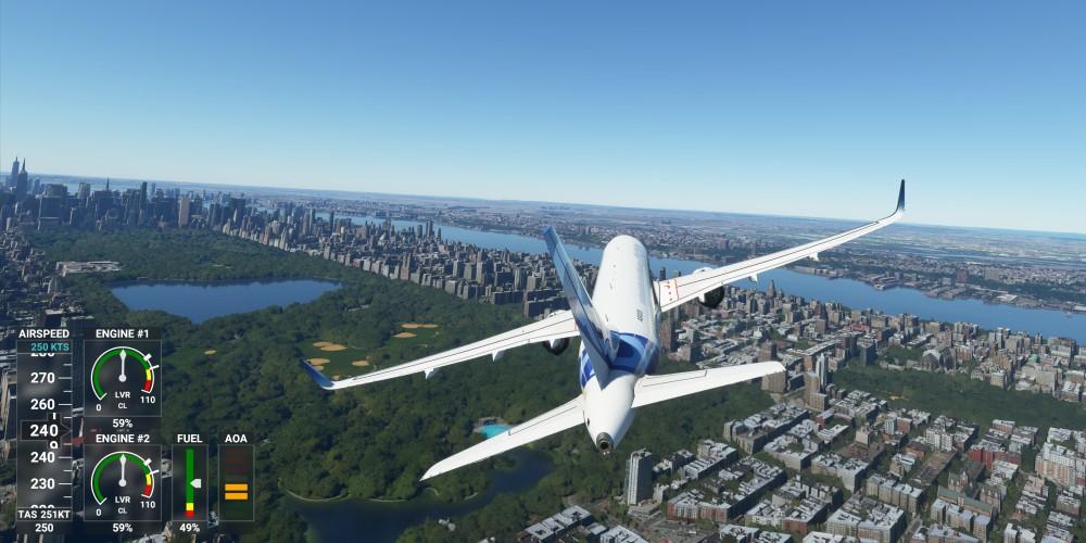 Flight Simulator im Benchmark-Test: Sim Update 5 lässt Performance abheben