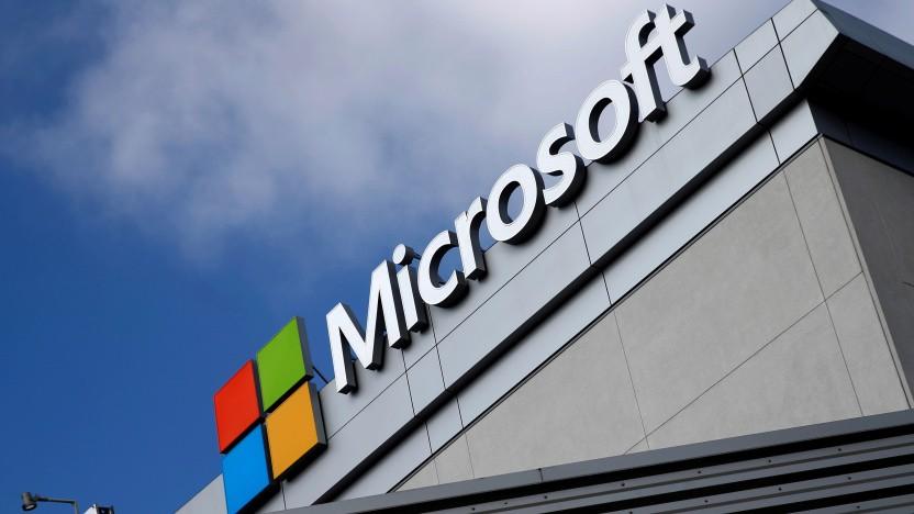 Microsoft-Logo in Los Angeles