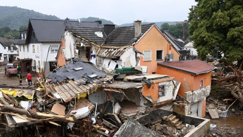 Das Hochwasser hat Zerstörung und Tote hinterlassen. Das könnte auch bei digitalen Katastrophen passieren.