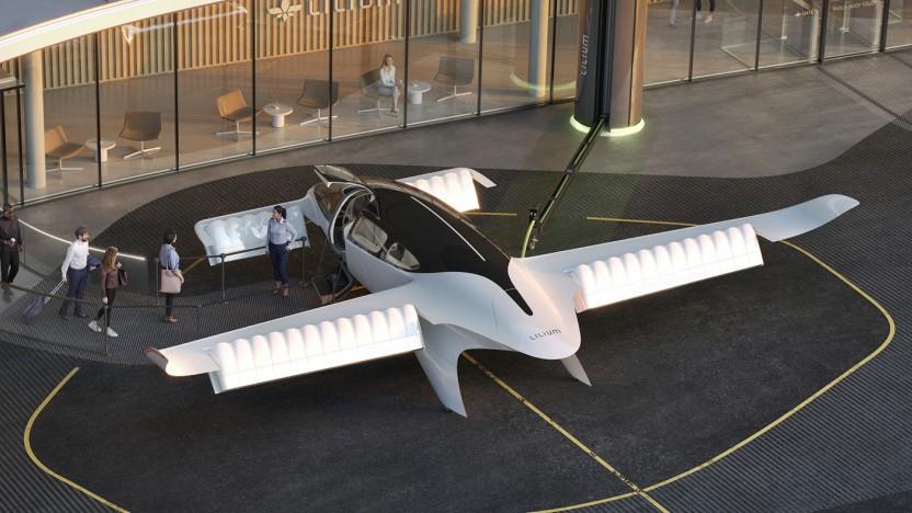 Lufttaxi Lilium Jet