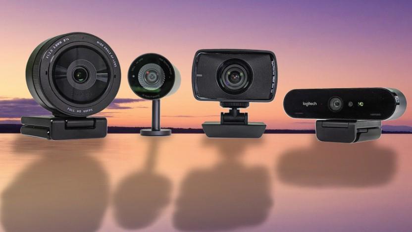 Dells Ultrasharp Webcam (Mitte links) und die Elgato Facecam (Mitte rechts) sind neue Kameras.