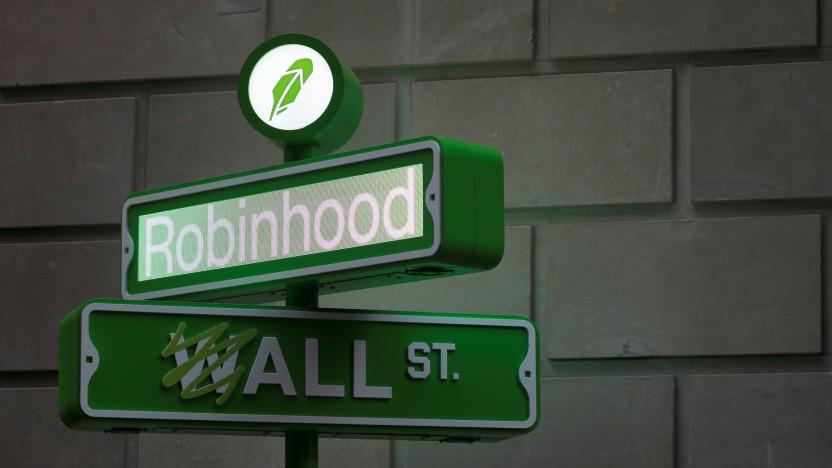 Der Börsengang von Robinhood war zunächst wenig erfolgreich.