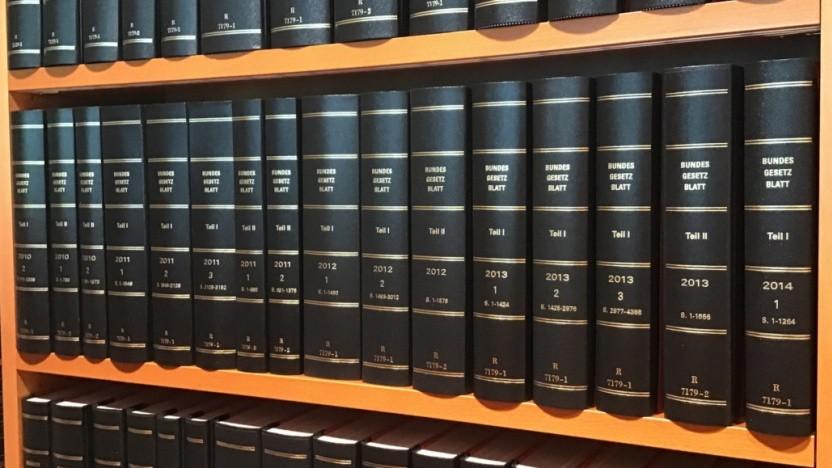 Gesetze gelten erst nach Veröffentlichung im Bundesgesetzblatt.