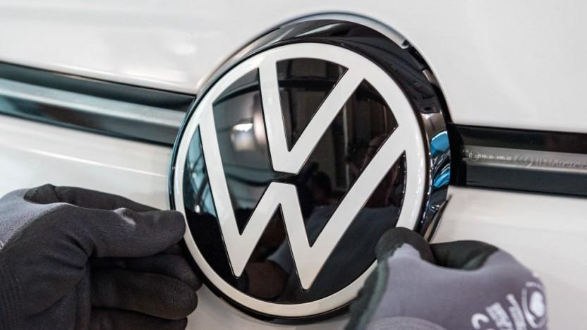 Die Frage zur Datennutzung für autonomes Fahren bewegt auch VW.