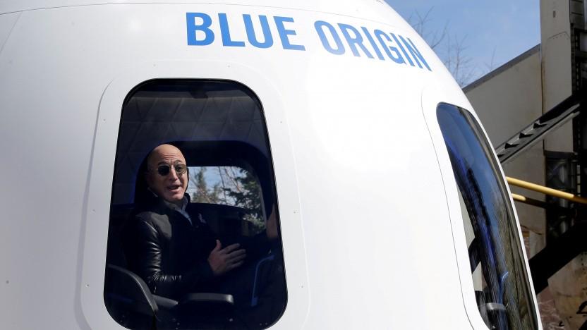 Jeff Bezos' Blue Origin wird vorerst nicht zum Mond fliegen.