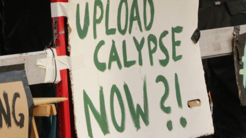 Schild auf Anti-Uploadfilter-Demo im März 2019 in Berlin
