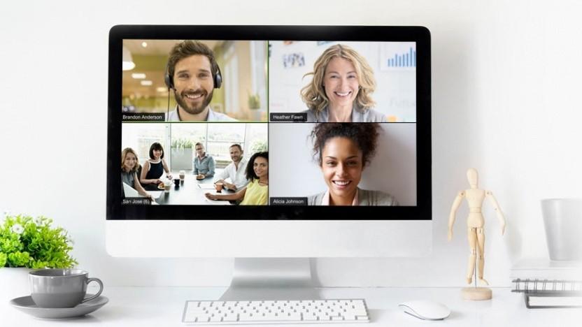 Eine Videokonferenz mit Zoom