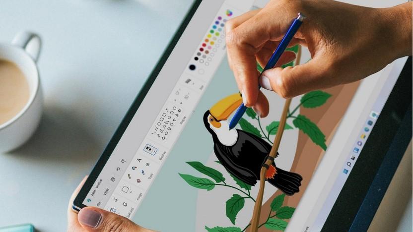 Microsoft Paint bekommt vor allem eine neue Kopfleiste.