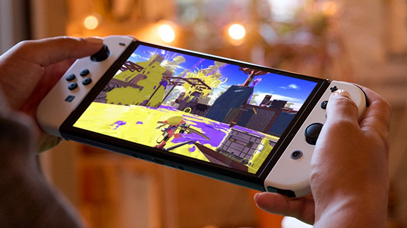 Artwork der Nintendo Switch OLED