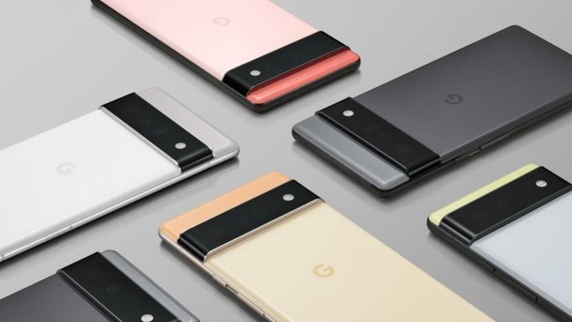 Das Pixel 6 und Pixel 6 Pro von Google