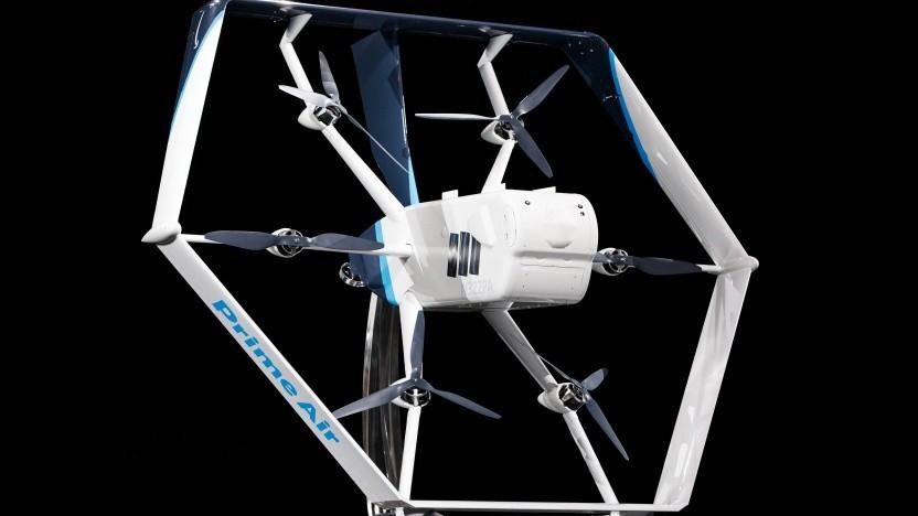 Mit diesem Multicopter will Amazon Pakete ausliefern.