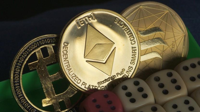 Der Handel mit Kryptowährung ist weitgehend ein Glücksspiel.