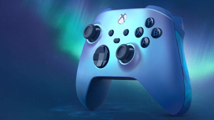 Aqua-Shift-Sondermodell des Xbox-Controllers