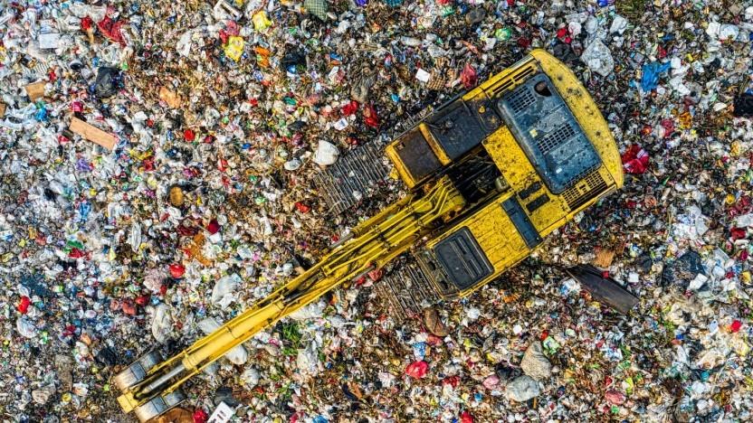 Mülldeponie (Symbolfoto)