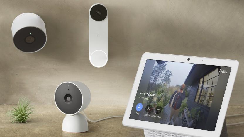 Die neuen Kameras und die Türklingel von Nest