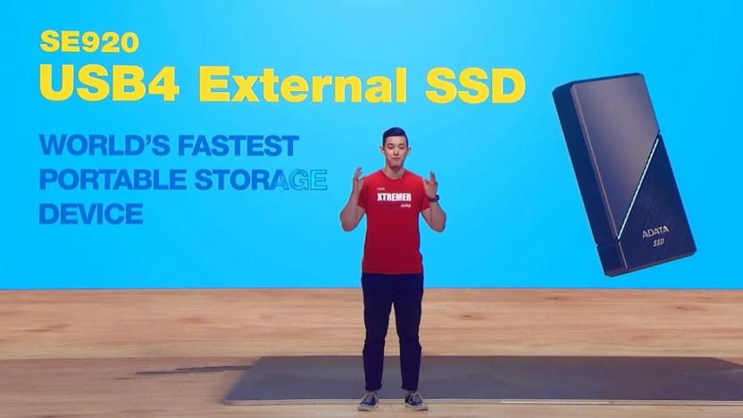 Die SE920 soll die schnellste externe SSD sein.