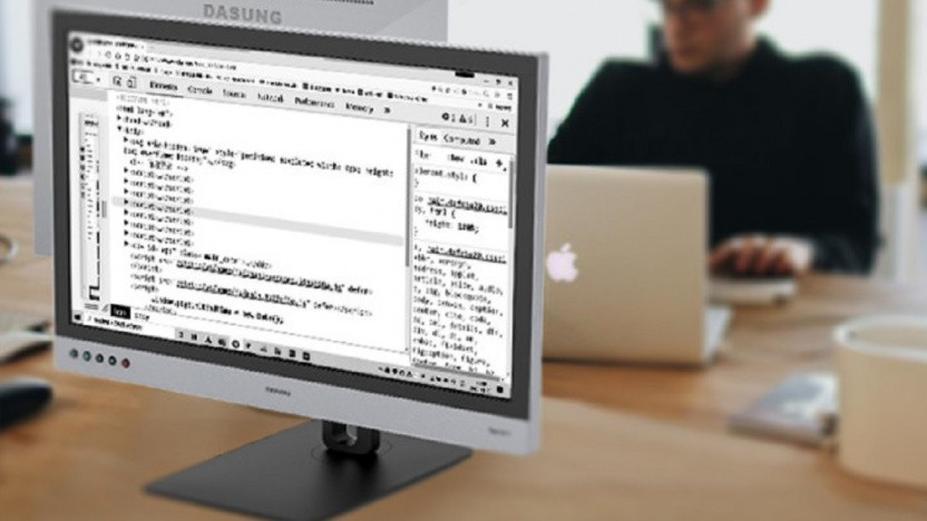 Der Dasung Paperlike 253 ist bereits bei einem Golem.de-Leser im Einsatz.