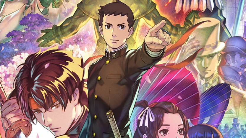 Artwork von The Great Ace Attorney Chronicles