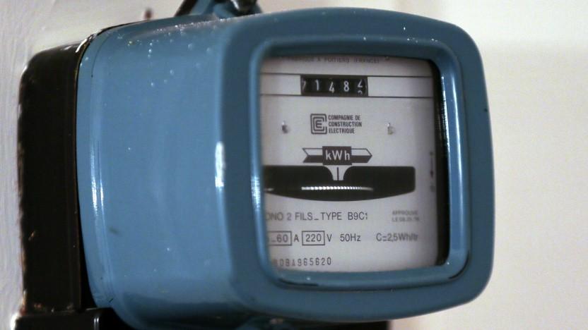 Vintage-Stromzähler