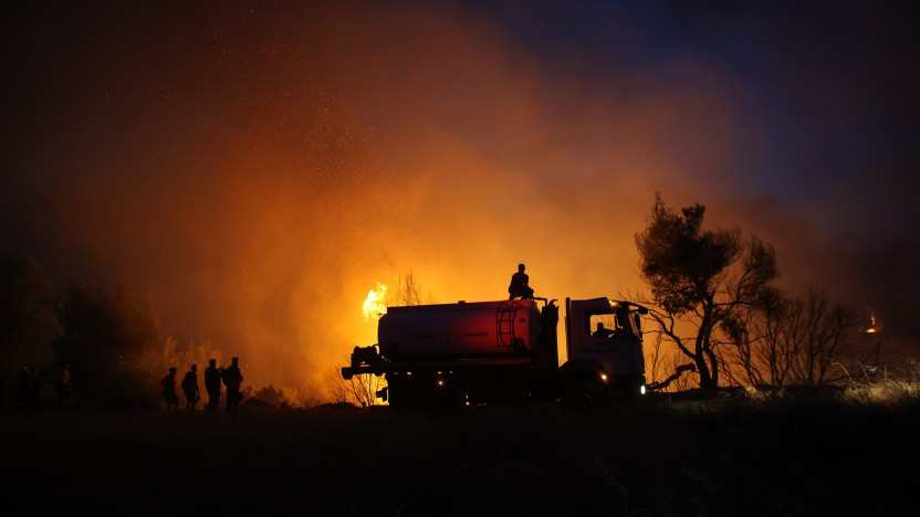 Der Klimawandel begünstigt dem IPCC zufolge Waldbrände wie derzeit in Griechenland.