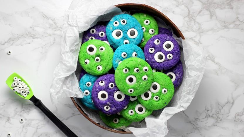 Manche Cookies haben viele Augen.