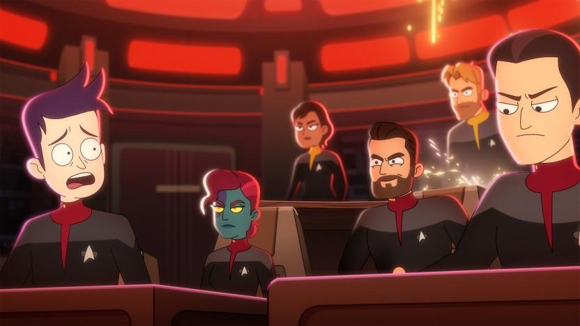 Ensign Boimler auf der USS Titan unter dem Kommando von Will Riker