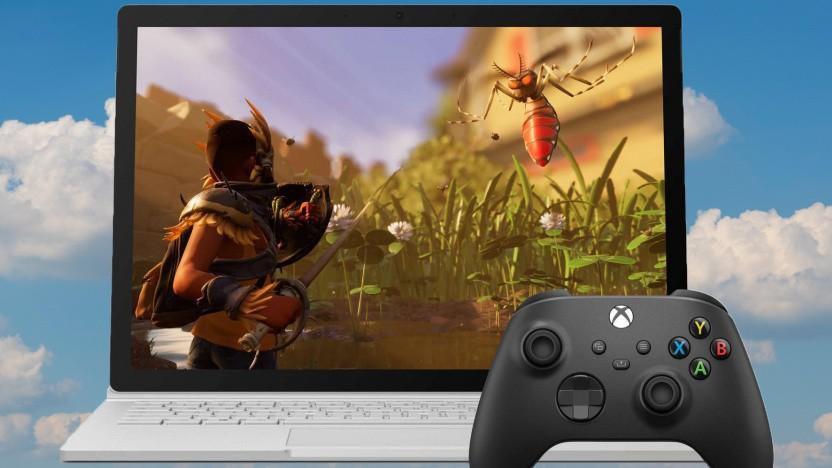 Artwork von Xbox Cloud Gaming unter Windows 10