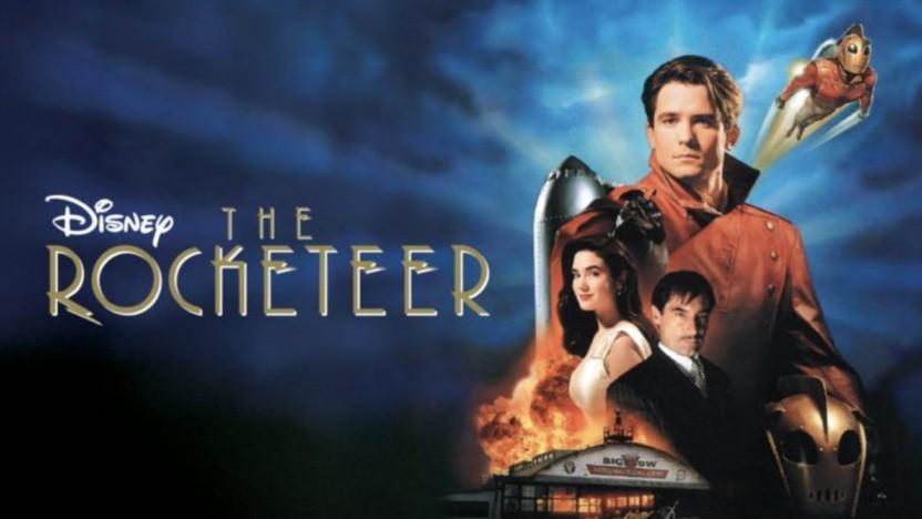 Jennifer Conelly, Bill Campbell und Timothy Dalton spielen die Hauptrollen in Rocketeer.
