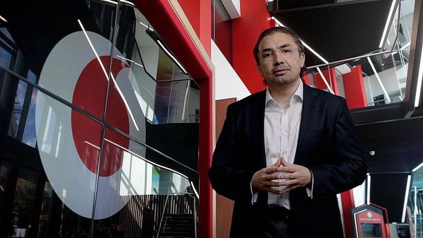 Ahmed Essam beim Vodafone Reinvent 2021