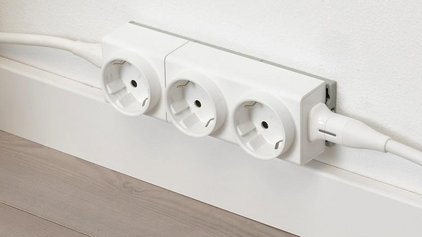 Ikeas Steckdosensytem Åskväder in Modulbauweise