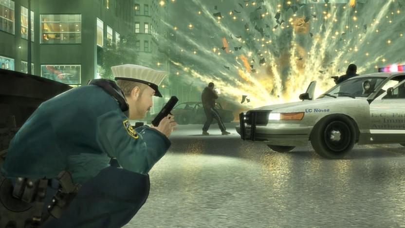 Artwork von GTA 4