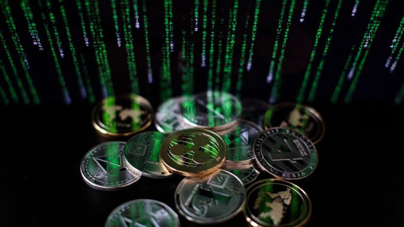 Hacker haben eine riesige Summe an Kryptowährungen gestohlen.
