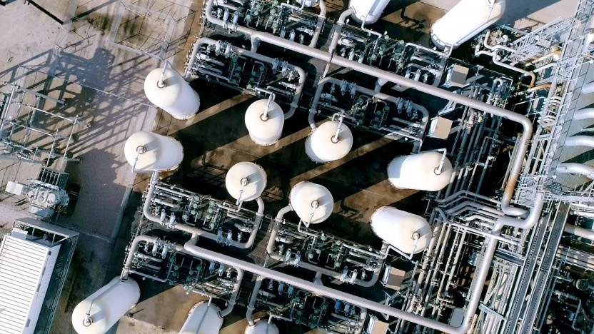 In Texas in Port Arthur steht eine von weltweit nur zwei CCS-Anlagen für die Wasserstoffproduktion.
