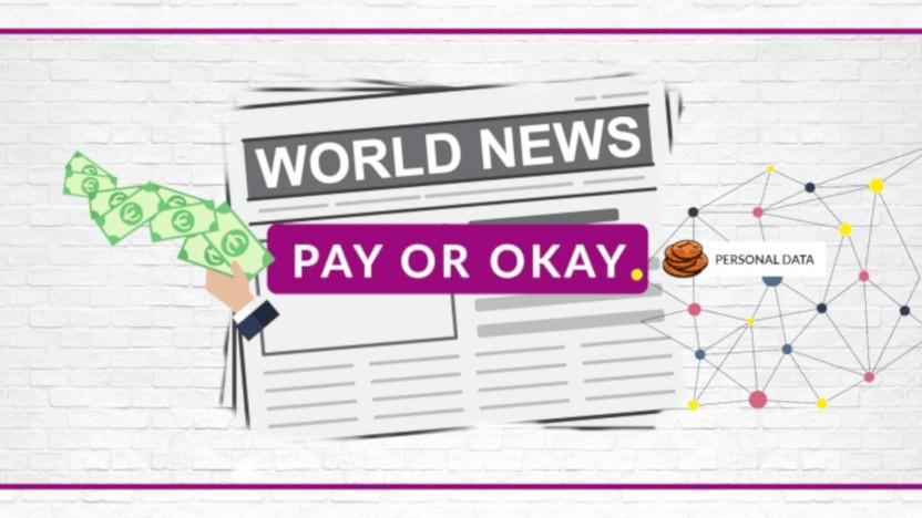 Der Datenschutzverein kritisiert das Pay-or-Okay-Verfahren.