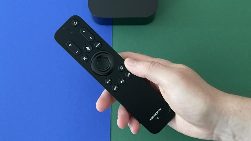 Die Magenta-TV-Fernbedienung für das Apple TV