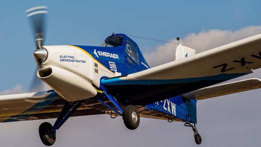Elektrisch angetriebenes  Demonstrationsflugzeug