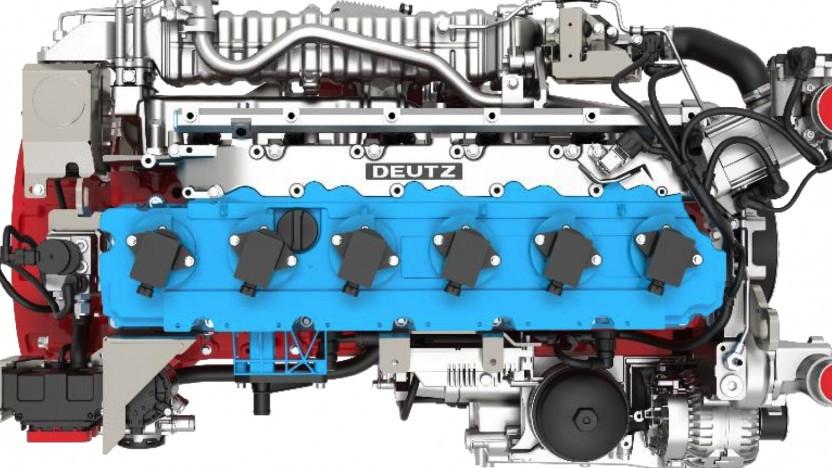 Deutz-Wasserstoffmotor