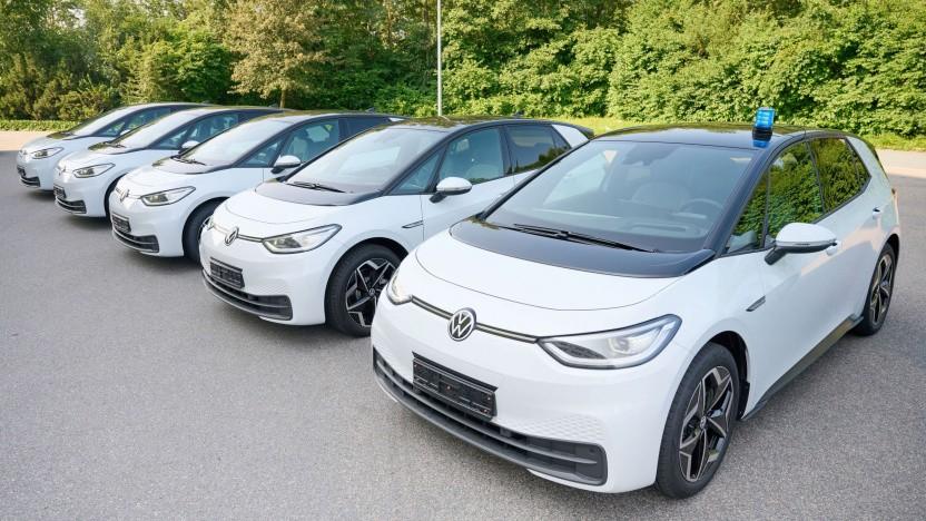 NiedersachsensPolizei erhält mehr als 200 ID.3 von VW.