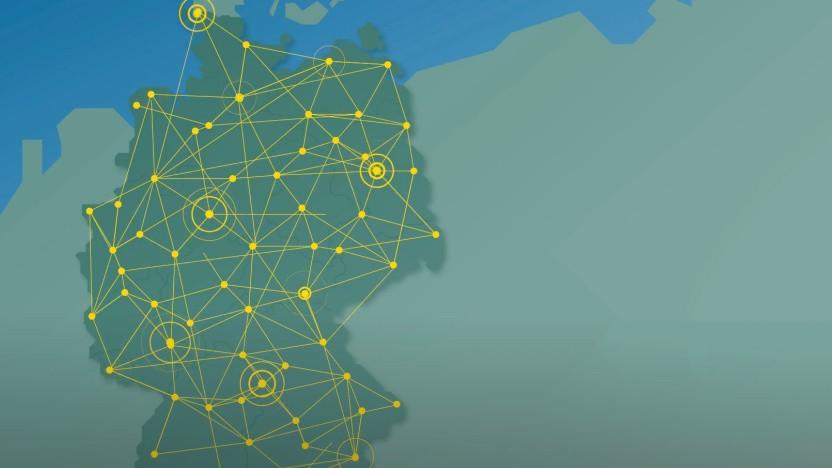Deutschlandnetz (Symbolbild)