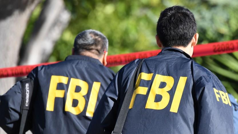FBI-Agenten im Einsatz