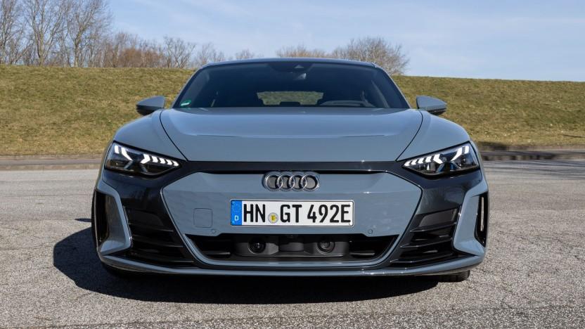 Auch der Audi E-Tron GT muss für ein Software-Update in die Werkstatt.