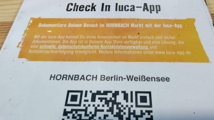 Die Luca-App wird weiterhin zur Kontaktnachverfolgung genutzt.