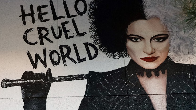 Cruella lief parallel zum Kinostart bei Disney+ als VIP-Titel.