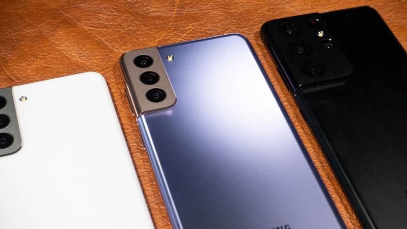 Auch teure Smartphones sind bei Samsung nicht sicher vor Werbung.