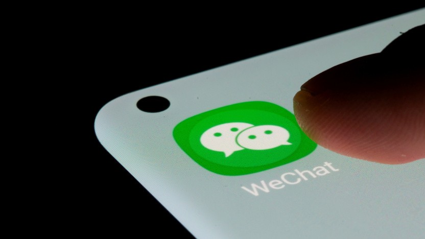 Auch Wechat von Tencent wurde von Chinas Regierung gerüffelt.